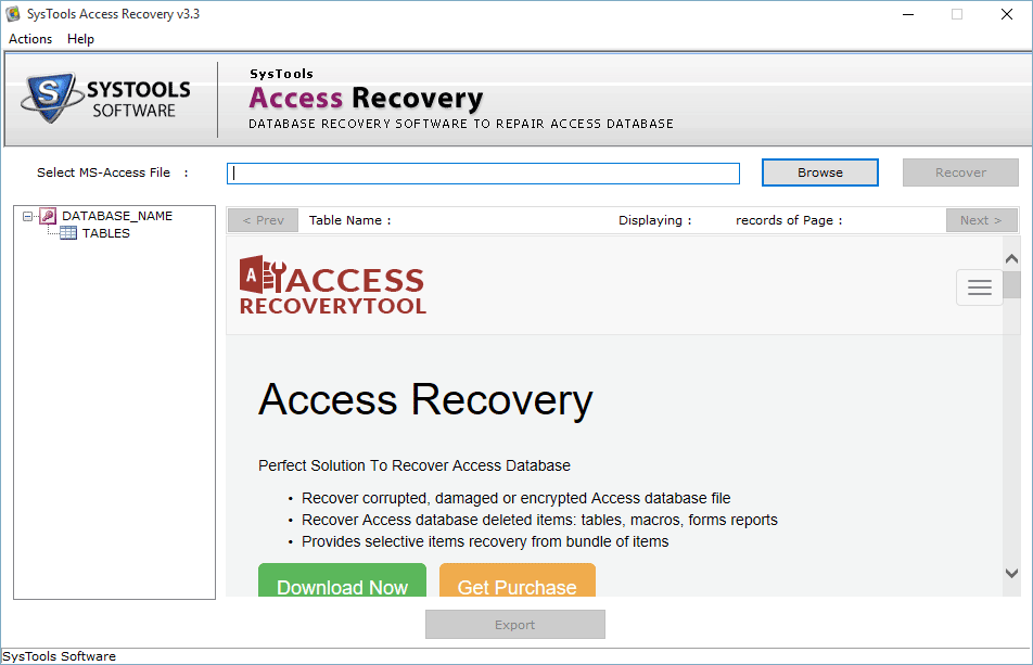 Install SQL Recovery Tool